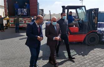 محافظ بورسعيد يتابع معدلات إنتاج مصنعي البويات وإطارات السيارات | صور