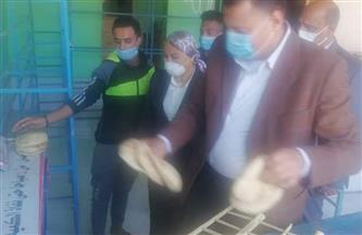 نائبة محافظ البحر الأحمر تتفقد المخابز ومحطة تعبئة البوتاجاز بالغردقة | صور