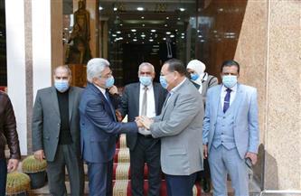 محافظ الشرقية يلتقي أعضاء مجلس النواب لمناقشة مشاكل المواطنين | صور