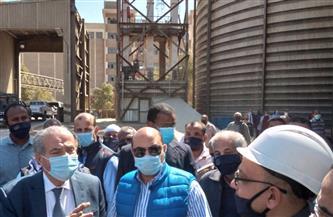 وزير التموين يختتم زيارته لأسوان بافتتاح هايبر العقاد | صور