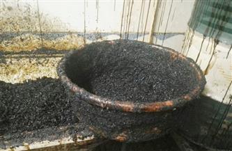 ضبط 3 أطنان معسل مغشوش وأكثر من 270 طن مواد تصنيع داخل مصنع تبغ بالمنوفية
