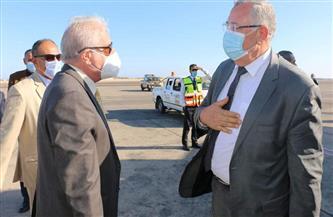 محافظ جنوب سيناء يستقبل وزير الزراعة | صور