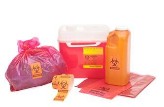 ضبط مصنع لإعادة تدوير المخلفات الطبية الخطرة بأبو النمرس