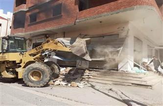 حملة مكبرة لإزالة المباني المخالفة غرب الإسكندرية