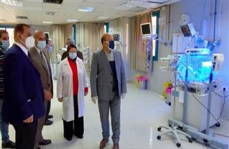 رئيس حي عين شمس: رفع الكفاءة الطبية للمستشفيات وتطويرها