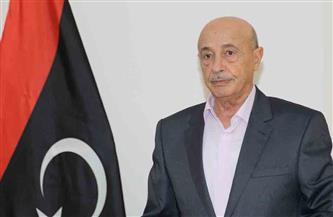 عقيلة صالح يصل مقر البرلمان الليبي لاستئناف جلسة منح الثقة للحكومة