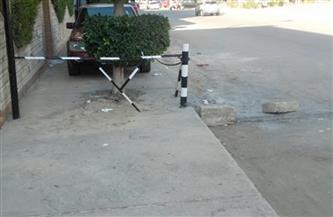 تعرف على غرامة وضع الحواجز الحديدية أمام المحال في حي عين شمس