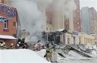 انفجار أسفل مبنى سكني في وسط روسيا