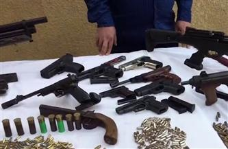 ضبط 183 قطعة سلاح ناري بحوزة 163 متهما.. وتنفيذ 81175 حكما قضائيا متنوعا