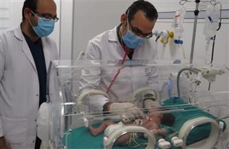 تفاصيل إنقاذ حياة مولود تبدلت شرايين قلبه ببورسعيد