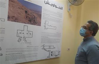 وزير الآثار يفتتح  منطقة مقابر الحواويش بسوهاج بعد تطويرها |صور