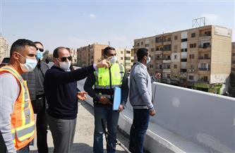 الرئيس السيسي يقوم بجولة تفقدية لأعمال تطوير الطرق والمحاور بشرق القاهرة |صور