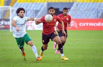 تعادل إيجابي بهدفين في الشوط الأول بين المصري وسيراميكا في مباراة قوية وسريعة