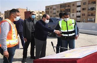الموقع الرئاسي ينشر فيديو تفقد الرئيس السيسي لأعمال تطوير الطرق والمحاور بشرق القاهرة
