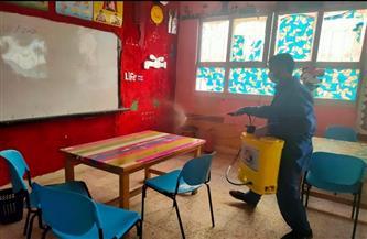 كفر الشيخ تطهر المدارس استعدادًا لانطلاق ماراثون الامتحانات| صور