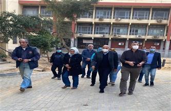 جامعة عين شمس ترفع درجة الاستعداد القصوى استعدادًا للامتحانات| صور