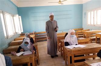 رئيس منطقة الأقصر الأزهرية يتفقد امتحانات النقل الابتدائي والثانوي |صور