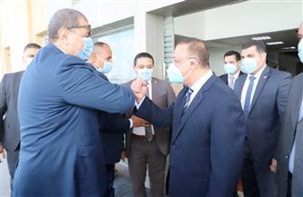 محافظ الإسكندرية يستقبل وزير القوى العاملة لتسليم بوليصة التأمين للصيادين والعمالة غير المنتظمة |صور