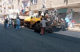 محافظ أسيوط: رصف وتأهيل شوارع مركزي ساحل سليم والقوصية | صور