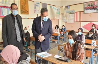محافظ الغربية يتابع أداء طلاب المدارس الثانوية لامتحان نصف العام.. ويوجه بحل المعوقات التقنية | صور