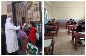 «صحة الغربية» تشكل لجانا لمراجعة الإجراءات الاحترازية لامتحانات التيرم الأول بالمدارس| صور
