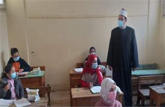 رئيس الإدارة المركزية لمنطقة المنوفية الأزهرية: انتظام أعمال الامتحانات لطلاب الأزهر |صور