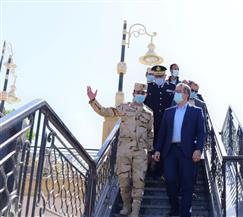 وزير السياحة والآثار يتفقد أعمال تطوير المرسى السياحي بالأقصر |صور