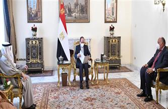 الرئيس السيسي يتلقى رسالة خطية من أمير الكويت