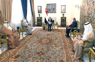الرئيس السيسي ووزير خارجية الكويت يتشاوران حول المستجدات على الساحة الإقليمية