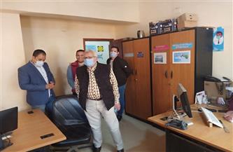 رئيس «مياه المنوفية» يتفقد فرع الشركة بالشهداء | صور