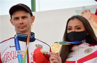 روسيا تحسم ذهبية المختلط بكأس العالم للرماية خرطوش| صور