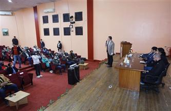 التدريب على استخدام الأدوات الرقابية بنموذج محاكاة محليات مصر في بورسعيد | صور