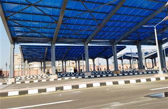 تشغيل موقفين جديدين لسيارات الأجرة بمدينة دمياط الجديدة  صور