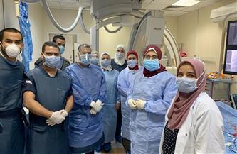 قسطرة قلبية بالمجان تنقذ حياة 9 أطفال بـ«مستشفى طنطا التعليمي»| صور
