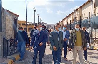 محافظ كفر الشيخ يتفقد أعمال تطوير مسار بيت العائلة المقدسة بسخا| صور