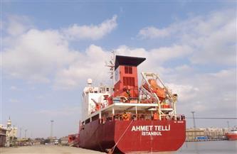 تداول 27 سفينة وشحن 5000 طن صودا كاوية بميناء غرب بورسعيد| صور