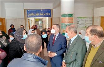 محافظ كفرالشيخ: تطعيم شلل الأطفال متوافر بجميع الوحدات الصحية والفرق المتحركة |صور