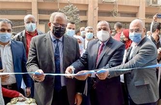 رئيس جامعة بني سويف يفتتح بنك الدم وتطوير المبنى الإداري بالمستشفى الجامعي |صور