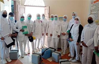 بمشاركة 240 فرقة.. انطلاق حملة تطعيم شلل الأطفال بالبحر الأحمر |صور