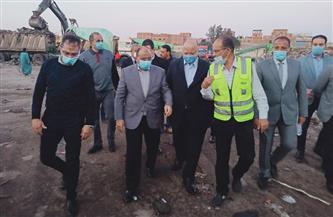 وزير التنمية المحلية ومحافظ القاهرة يتفقدان مشروعات منظومة المخلفات الصلبة بالمقطم ومنشأة ناصر