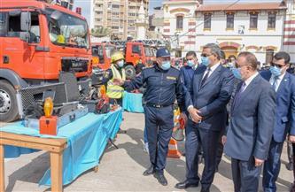 محافظ الإسكندرية وقيادات الأمن يشهدون الاحتفال بـ«اليوم العالمي للحماية المدنية» |صور