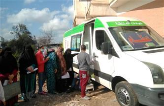 قافلة طبية توقع الكشف على 2250 في قرية الشقة بقلين بكفر الشيخ | صور
