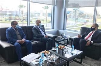 رئيس حماية المنافسة يستقبل وفدًا من جامعة الدول العربية