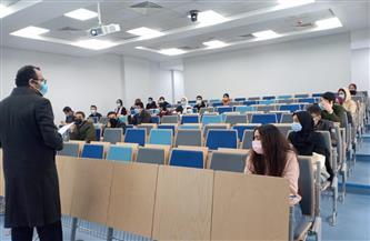 جامعة الجلالة تبدأ امتحانات الفصل الدراسي الأول وسط إجراءات احترازية مشددة| صور