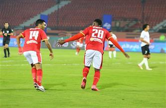 الأهلي يفوز على الطلائع بثنائية في الدوري المصري  صور