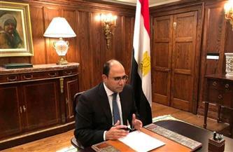 سفير مصر في كندا يستعرض التجربة المصرية في مواجهة جائحة كورونا بجامعة كونكورديا | صور