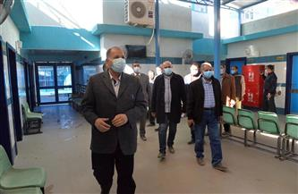 محافظ أسيوط يتفقد وحدة طب الأسرة ومشروع الصرف الصحي بقرية تاسا بساحل سليم   صور