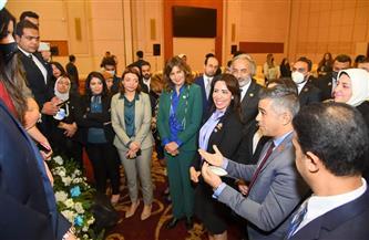 """وزيرة الهجرة: توفير 15 فرصة تدريبية لشباب الدارسين بالخارج عبر مركز """"الهجرة"""" للحوار  صور"""