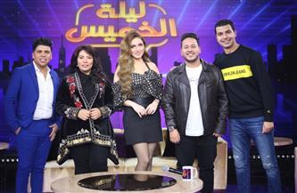 """محمد أنور وكريم عفيفي وإيمان السيد وعمر كمال في """"ليلة الخميس"""" على """"MBC مصر""""  صور"""