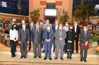 """""""العربية للتصنيع"""" تستقبل سفير رومانيا وتبحث الشراكة في المجالات المختلفة"""